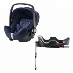 Автокресло-переноска группа 0+ (до 13 кг) BRITAX ROMER Baby-Safe2 i-Size + Flex Base