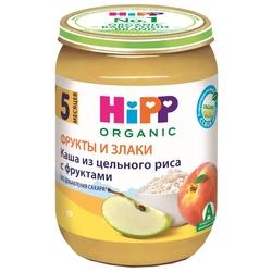 Каша HiPP безмолочная из цельного риса с фруктами (с 5 месяцев) 190 г