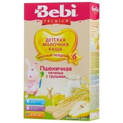 Каша Bebi молочная пшеничная с печеньем и грушей (с 6 месяцев) 200 г
