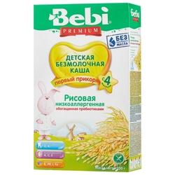 Каша Bebi безмолочная рисовая (с 4 месяцев) 200 г