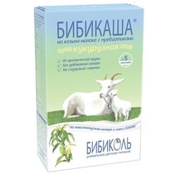 Каша БИБИКОЛЬ молочная БИБИКАША кукурузная на козьем молоке (с 5 месяцев) 200 г