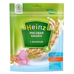 Каша Heinz молочная рисовая (с 4 месяцев) 250 г