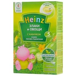 Каша Heinz безмолочная Злаки и овощи пшенично-рисовая с кабачком (с 5 месяцев) 200 г
