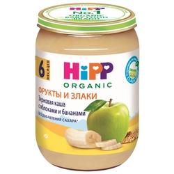 Каша HiPP безмолочная зерновая с яблоком и бананом (с 6 месяцев) 190 г
