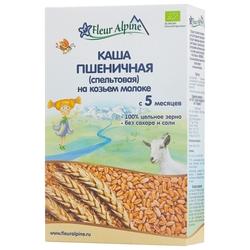 Каша Fleur Alpine молочная спельтовая на козьем молоке (с 5 месяцев) 200 г