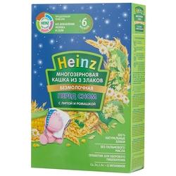 Каша Heinz безмолочная 3 злака с липой и ромашкой (с 6 месяцев) 200 г