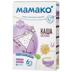 Каша МАМАКО молочная овсяная на козьем молоке (с 6 месяцев) 200 г