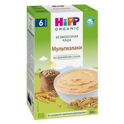 Каша HiPP безмолочная мультизлаковая (с 6 месяцев) 200 г