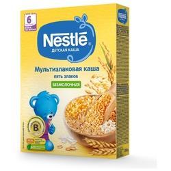 Каша Nestlé безмолочная 5 злаков (с 6 месяцев) 200 г