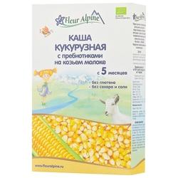 Каша Fleur Alpine молочная кукурузная с пребиотиками на козьем молоке (с 5 месяцев) 200 г