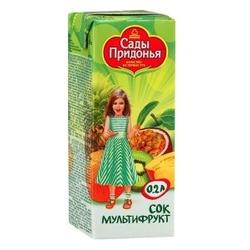 Сок Сады Придонья Мультифруктовый, c 12 месяцев