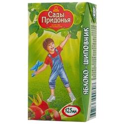 Сок Сады Придонья Яблоко-шиповник, c 6 месяцев