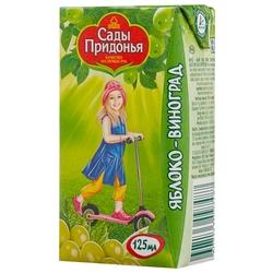 Сок Сады Придонья Яблоко-виноград, c 6 месяцев