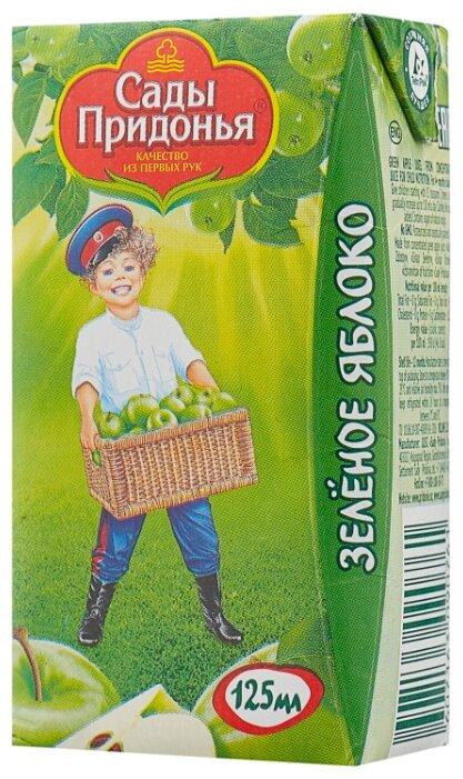 Сок Сады Придонья Зеленое яблоко (Tetra Pak), c 4 месяцев