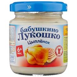 Пюре Бабушкино Лукошко цыпленок (с 6 месяцев) 100 г, 1 шт.