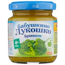 Пюре Бабушкино Лукошко брокколи (с 4 месяцев) 100 г, 1 шт