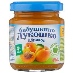 Пюре Бабушкино Лукошко абрикос (с 4 месяцев) 100 г, 1 шт