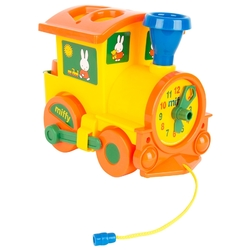 Каталка-игрушка Miffy Паровозик логический № 1 (64240)