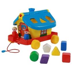 Каталка-игрушка Полесье Садовый домик на колесиках (56443)