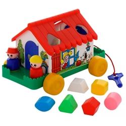 Каталка-игрушка Cavallino Игровой дом (6202)