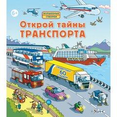 Книжка Робинс Открой тайны транспорта