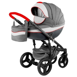 Универсальная коляска Adamex Monte Carbon (2 в 1)