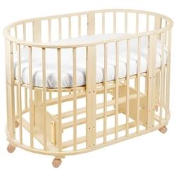 Кроватка SWEET BABY Delizia 10 в 1 (трансформер), поперечный маятник
