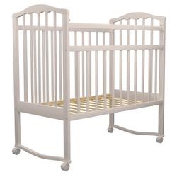 Кроватка Агат Золушка-1 (качалка), на полозьях