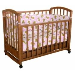 Кроватка Фея 603 (качалка), на полозьях