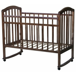 Кроватка Антел Алита-2 (колесо) (качалка), на полозьях