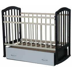 Кроватка Антел Алита-4 (с ящиком) (качалка), на полозьях