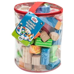 Кубики Little hero Colorful Woodlike Blocks (3094)