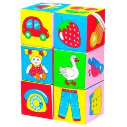 Кубики Мякиши Предметы