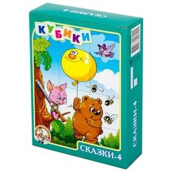 Кубики-пазлы Десятое королевство Сказки-4 00690