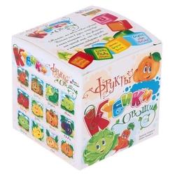 Кубики-пазлы Десятое королевство Овощи и фрукты 00697