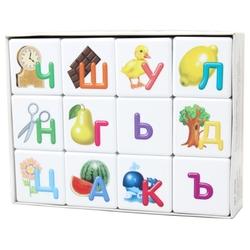 Кубики Десятое королевство Азбука для самых маленьких 00709
