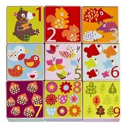 Кубики-пазлы Ebulobo Мишка E51056