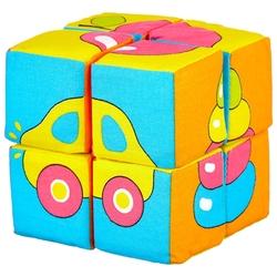 Кубики-пазлы Мякиши Собери картинку Предметы