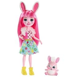 Кукла Enchantimals Бри Кроля с любимой зверюшкой, 15 см, FXM73