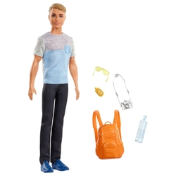 Кукла Barbie Путешествия Кен Турист, FWV15