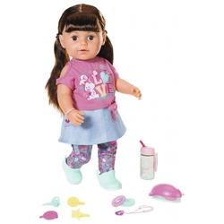 Интерактивная кукла Zapf Creation Baby Born Сестричка брюнетка, 43 см, 827-185