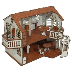 IWOODPLAY кукольный домик IGKD-02-01 (с эркерами)