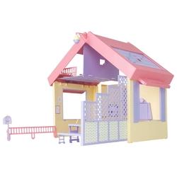 ОГОНЁК кукольный домик Маленькая принцесса (складной), С-1458