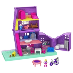 Polly Pocket (Mattel) Карманный Домик Pollyville, GFP42