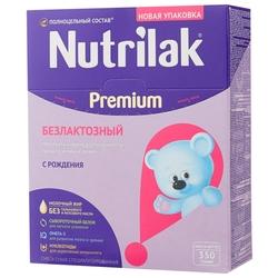 Смесь Nutrilak (InfaPrim) Premium безлактозный (с рождения) 350 г