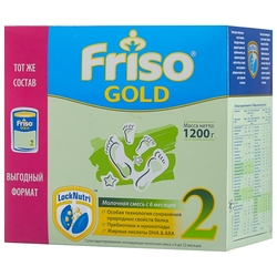 Смесь Friso Gold 2 (с 6 до 12 месяцев) 1200 г
