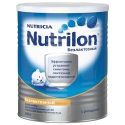 Смесь Nutrilon (Nutricia) Безлактозный (с рождения) 400 г