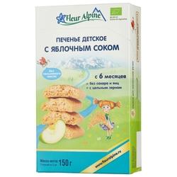 Печенье Fleur Alpine с яблочным соком (с 6 месяцев)