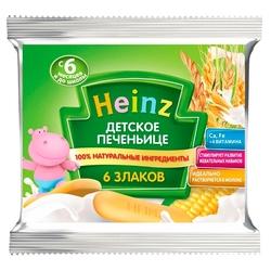 Печенье Heinz 6 злаков в флоупаке (с 6 месяцев)