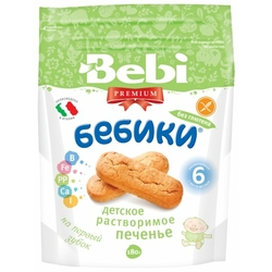 Печенье Bebi Бебики без глютена (с 6 месяцев)